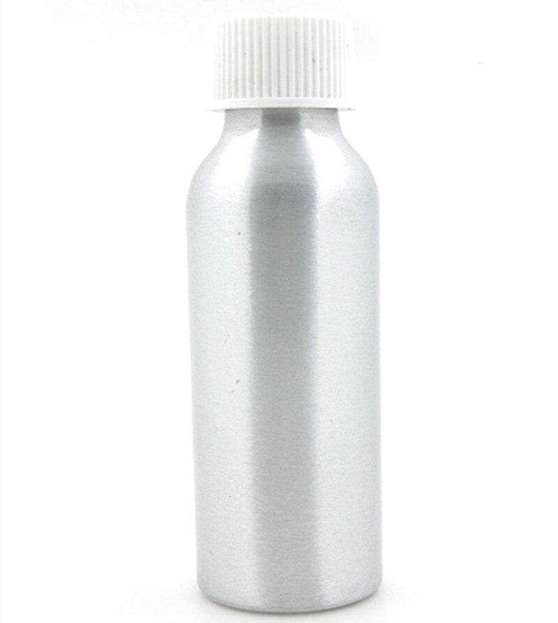 100ml Empty Aluminum Bottles, Sliver Metal Bottle With White/black Child Resistant Caps,safety Lid