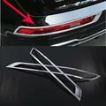 Автомобильный Стайлинг яркий ABS хром Задний противотуманный фонарь рамка лампы Накладка 2 шт для Audi Q5 FY 2018 2019