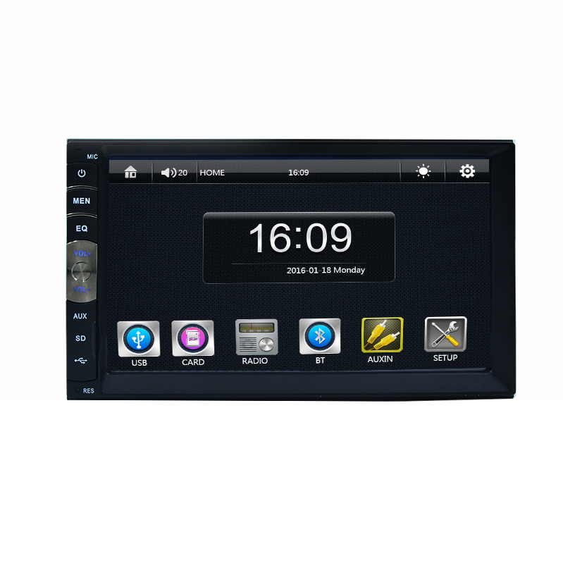 7 Inch 2 DIN Universal Car MP5 MP3 multimedia Player Touch Screen Car video Player Car Stereo Radio GPS navigation FM /USB /AUX