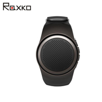 Raxko 2018 Blutooth Wireless Outdoor Portable Speaker Bluetooth watch For Phone Music bluethooth Loudspeaker TF Card FM Radio