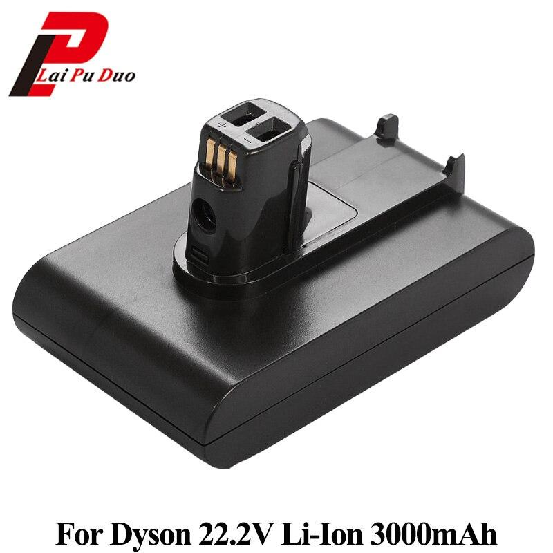 все цены на 22.2V 3000mAh Li-ion Replacement Battery For Dyson Handheld Vacuum Cleaner DC31 DC34 DC35 DC44 DC45 917083-01 Type A онлайн