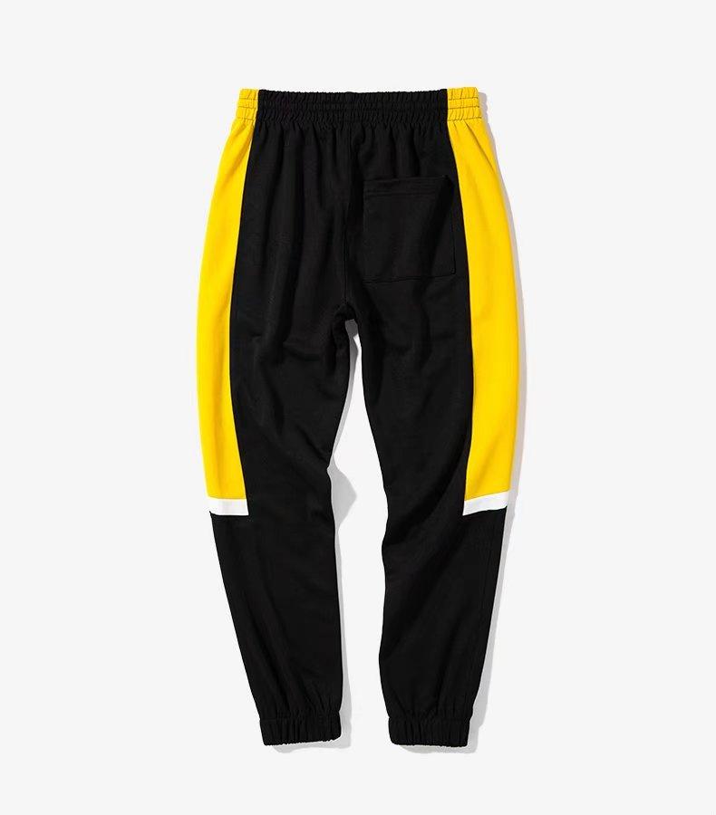 bbdb9c3c € 20.2 20% de DESCUENTO|Alta calidad 2017 de la vendimia lado raya ropa  deportiva Pantalones moda hip hop elástico cintura corredores Pantalones ...
