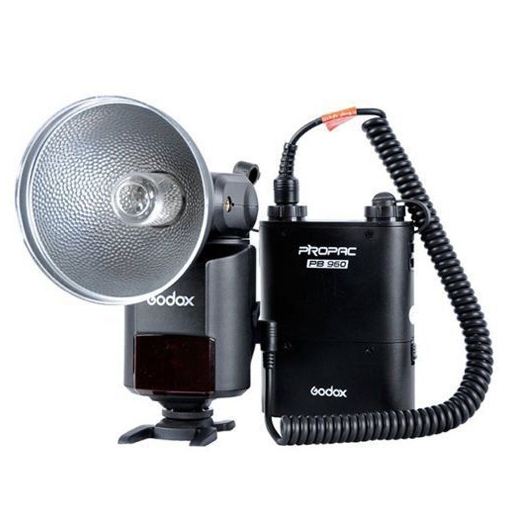 Godox Witstro AD360 AD-360 Powerful Portable Speedlite Pro outdoor Flash Light + PB960 Power Battery Pack Kit Black Studio flash godox ar400 400w li ion battery lcd panel powerful macro led ring flash speedlite video light kit with free dhl ems