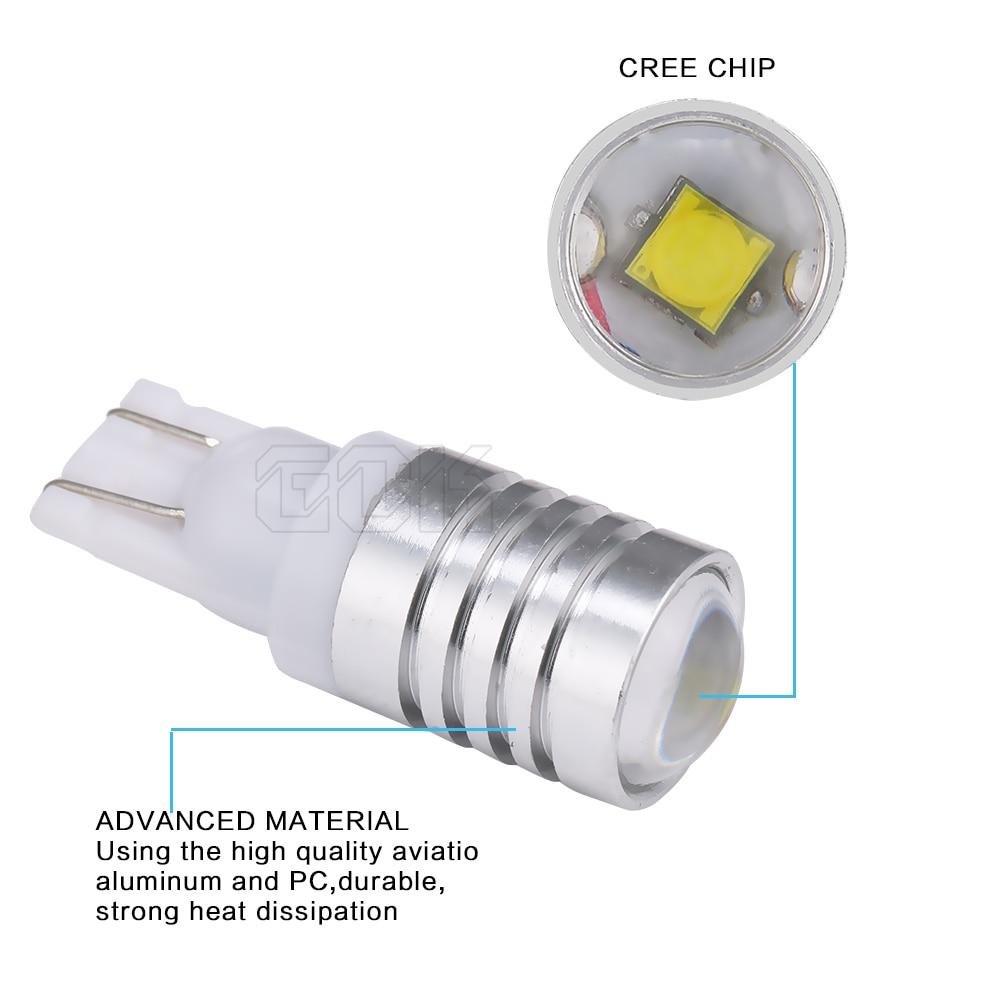 2 шт./лот,, автомобильный светильник s T10, светодиодный светильник W5w, автомобильные лампы 194, t10 5 Вт, КРИ чипы, светодиодный Автомобильный Клин, парковочный купольный светильник