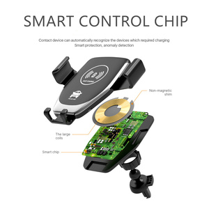 Image 4 - Suporte de montagem para o telefone no carregador de carro 360 nenhum suporte magnético do telefone para o iphone samsung s10 plus xiaomi suporte do telefone ventilação ar