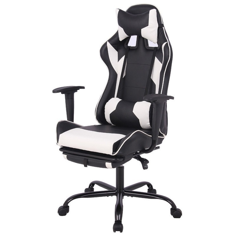 Free New Shipping Eu Boss Game Computer Gaming Chair Racing Style Leather High-back Office Chair Ergonomic Swivel