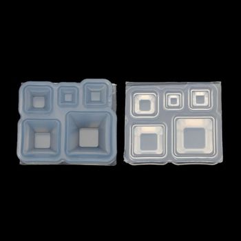 Mini Square Bowl Resin Mold Silicone Resin Casting Art Craft Jewelry Making Tool mini bowl