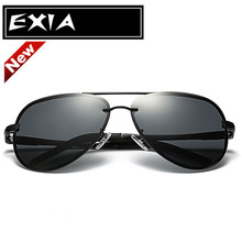 New Sunglasses for Men Trency Drivers' Eyeglasses Anti-UV EXIA OPTICAL KD-0761 Series