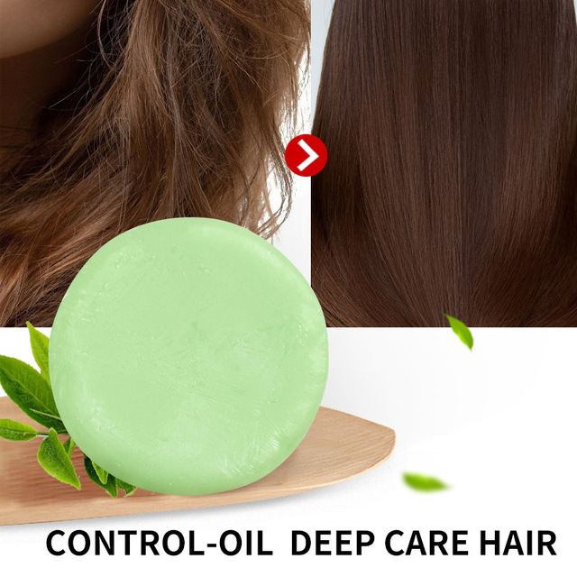 Té Verde hecho a mano vitamina C acondicionador barra hidratante pelo acondicionador jabón recomendado