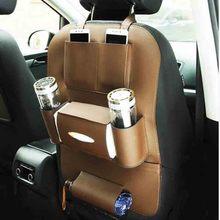 Кожаное сиденье автомобиля Многофункциональный Автокресло сумка для хранения BMW X5 X6 X3 X4 F15 F16 F25 F26 E70 E83 2010-2015 2016