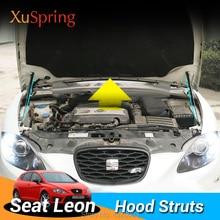 Крышка двигателя автомобиля капот пружинный амортизатор кронштейн гидравлическая штанга стойки для Seat Leon 2005-2012 mk2 Typ1P без бурения/сварки