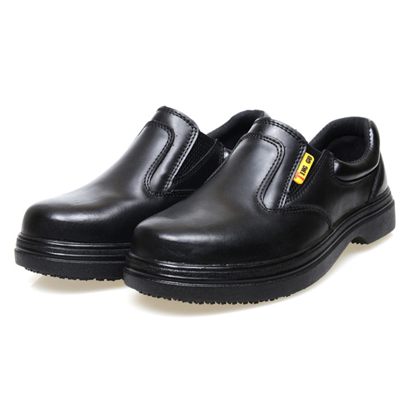 Aliexpress Com Buy Newly Men Work Shoes Restaurant Kitchen Chef Safety Anti Puncture Waterproof Anti Skid Working Shoes Black From Reliable Shoe Rack