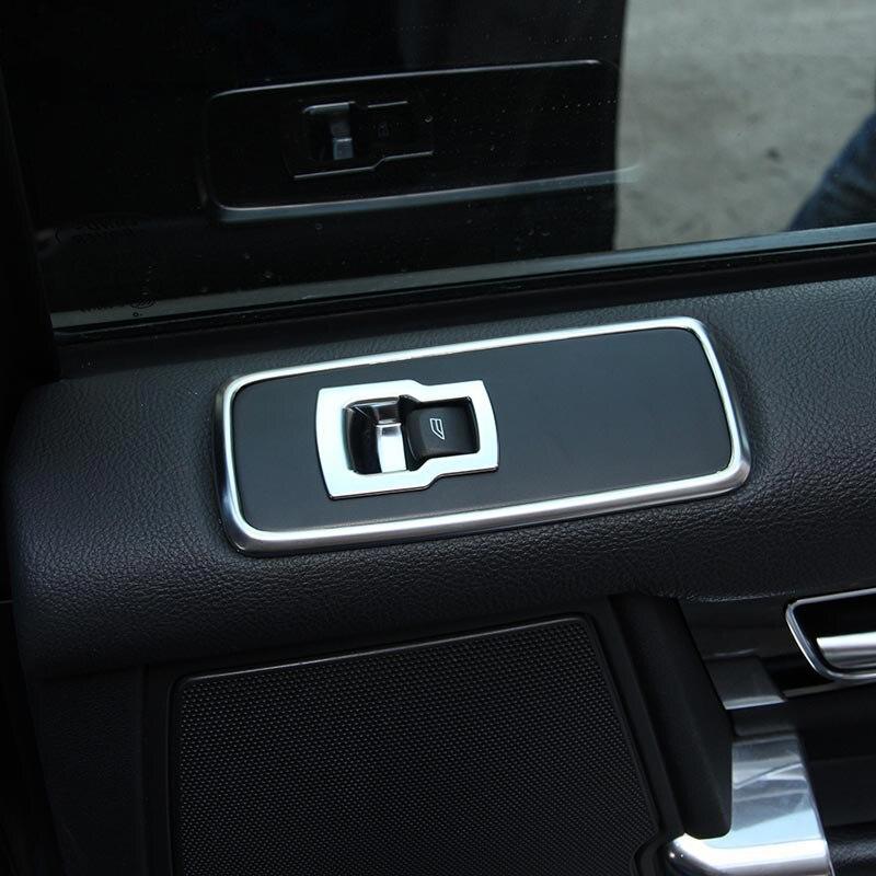 Chrome Door Pulsante della Finestra Della Copertura Trim Per Land Rover Discovery 4 2009-2016 Per Range Rover Sport 2010-2013 Accessorio