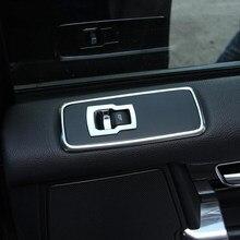 Chrom Tür Fenster Taste Abdeckung Trim Für Land Rover Discovery 4 2009-2016 Für Range Rover Sport 2010-2013 zubehör
