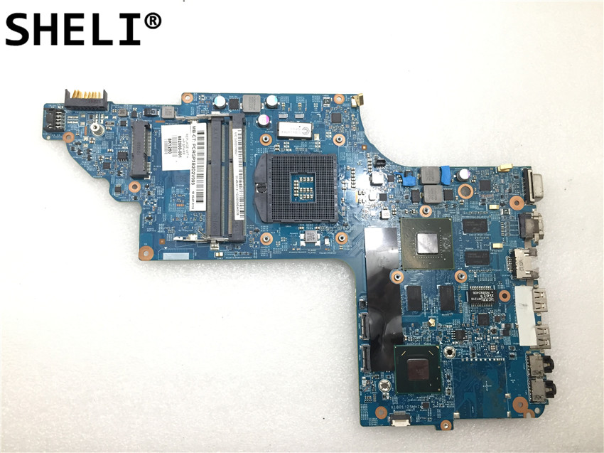 SHELI For HP DV7-7000 48.4ST10.031 Motherboard 682000-001SHELI For HP DV7-7000 48.4ST10.031 Motherboard 682000-001