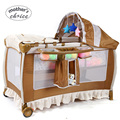 Матери Выбор складной детской кроватки портативный многофункциональный детская кроватка Бесплатная доставка MCC201