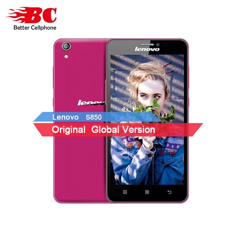 In Stock Original Lenovo S850 Dual SIM Android 4 4 MTK6582 Quad Core 5 0 IPS