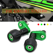 For KAWASAKI NINJA400 NINJA 400 2018 2019 NEW CNC Motorcycle Frame Sliders anti Crash Engine Guard Pad Side Shield Protector