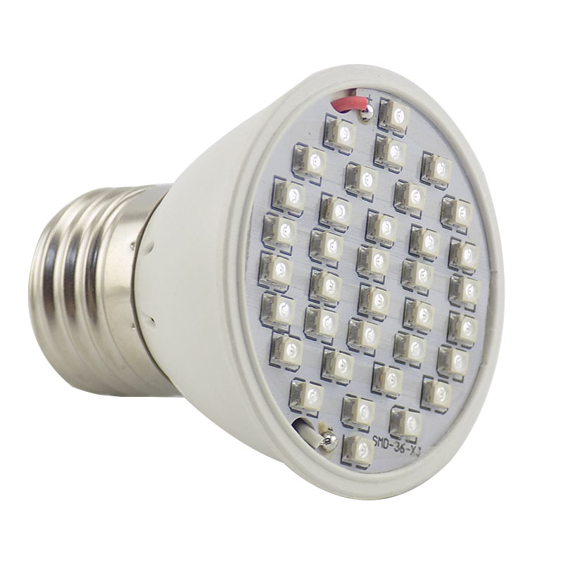 Полный спектр Светодиодная лампа для роста растений лампа светильник ing для семян гидро цветок теплица Veg Крытый сад E27 phyto growbox