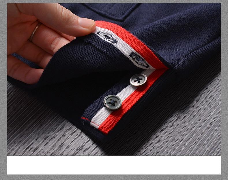Acheter 2019 Mode TB THOM Marque Rayure À Capuche Vêtements Coton Veste Hommes Femmes Sweats À Capuche Mâle Casual Sportswear Manteau De $175.53 Du