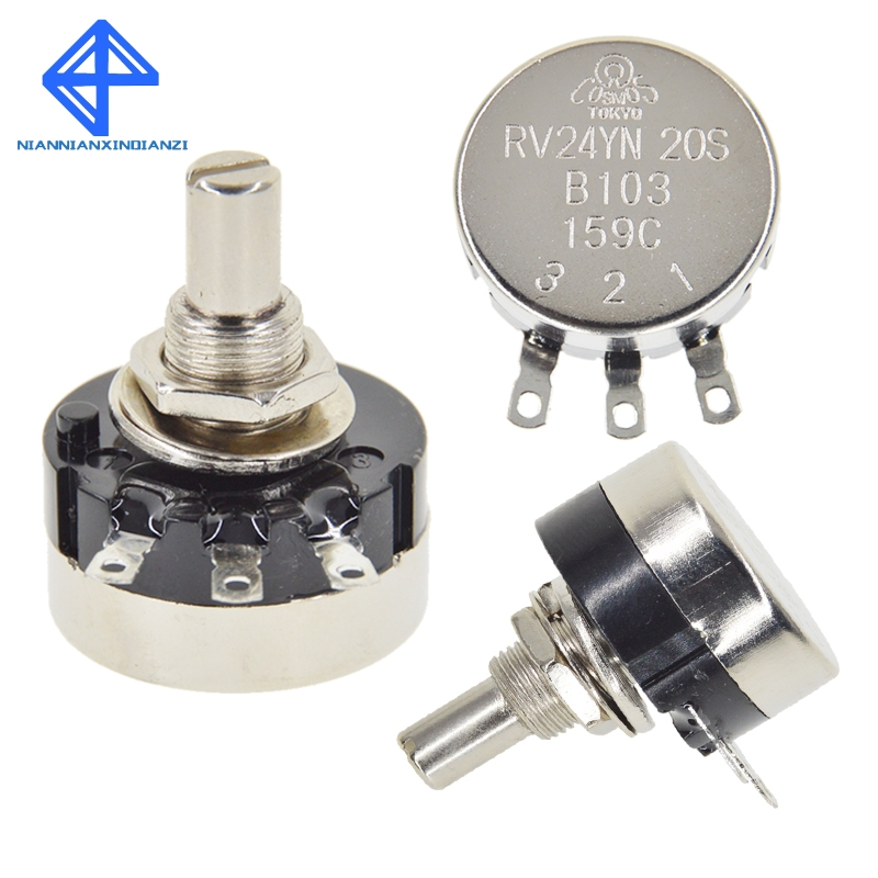 RM063 Carbon Film Potentiometer Variable Resistor WH06 Trimmer Pot