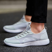 Big Size 35-47 Men Shoes 2017 Men Casual Shoes Summer Breathable Lace up Flats Fashion Light Male Footwear Boy Shoes for men