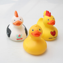 Creative Moxigan Styling Toy Rubber Duck Baby Bath Floating Cognitive Gift