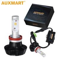 Auxmart H7 H4 LED Headlight Bulbs 50W Car Light H11 Auto Lamp LED HB4 9006 Lampara