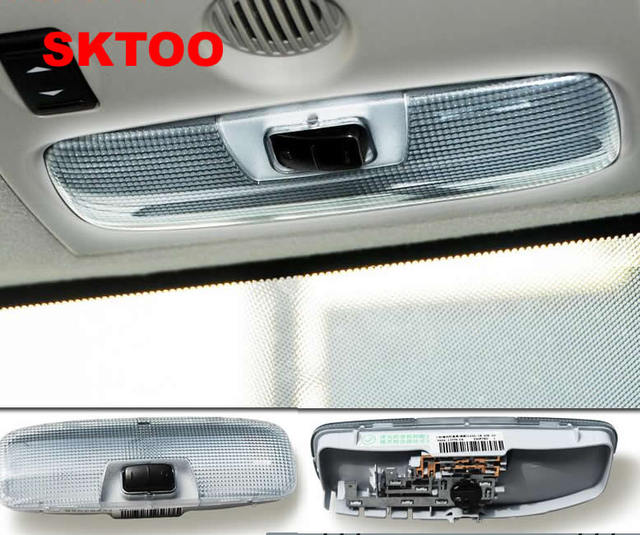 Sktoo Interior Dome Light For Ford Focus 2005 2017 Roof Lighting Reading Lamp Ecosport S Max Ceiling