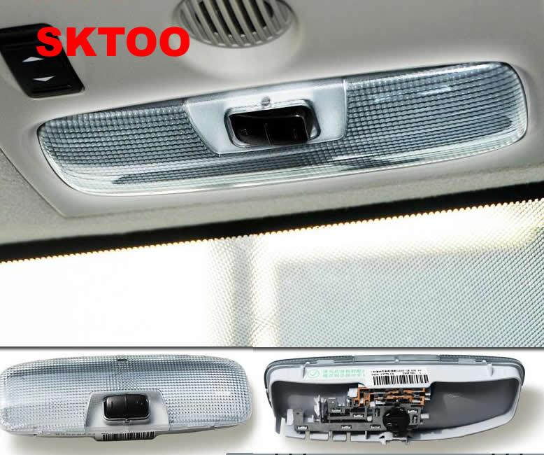 sktoo interior dome luz para ford focus 2005 2014 telhado de iluminacao da lampada de leitura