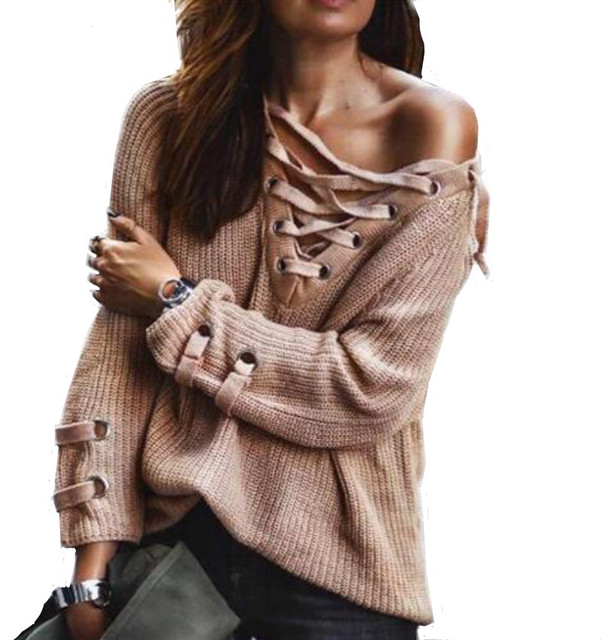 High Elastic Knitted Sweater Women Spring Autumn Split Ladies Sweaters  Female Rose Jumper Knitting Sweater Woman loose bandage 6d22686f3