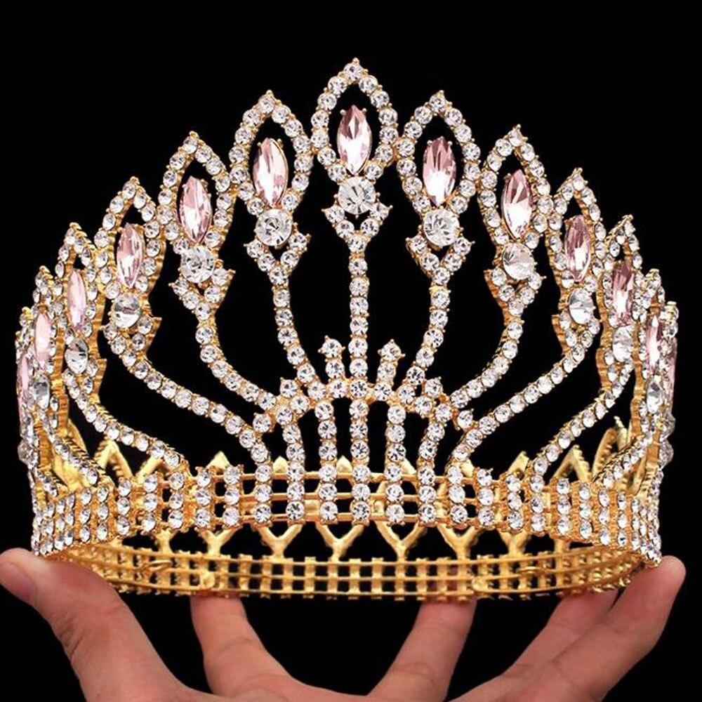 تيجان ملكية  امبراطورية فاخرة 2017-New-Baroqu-style-Europe-font-b-royal-b-font-font-b-Crown-b-font-Special