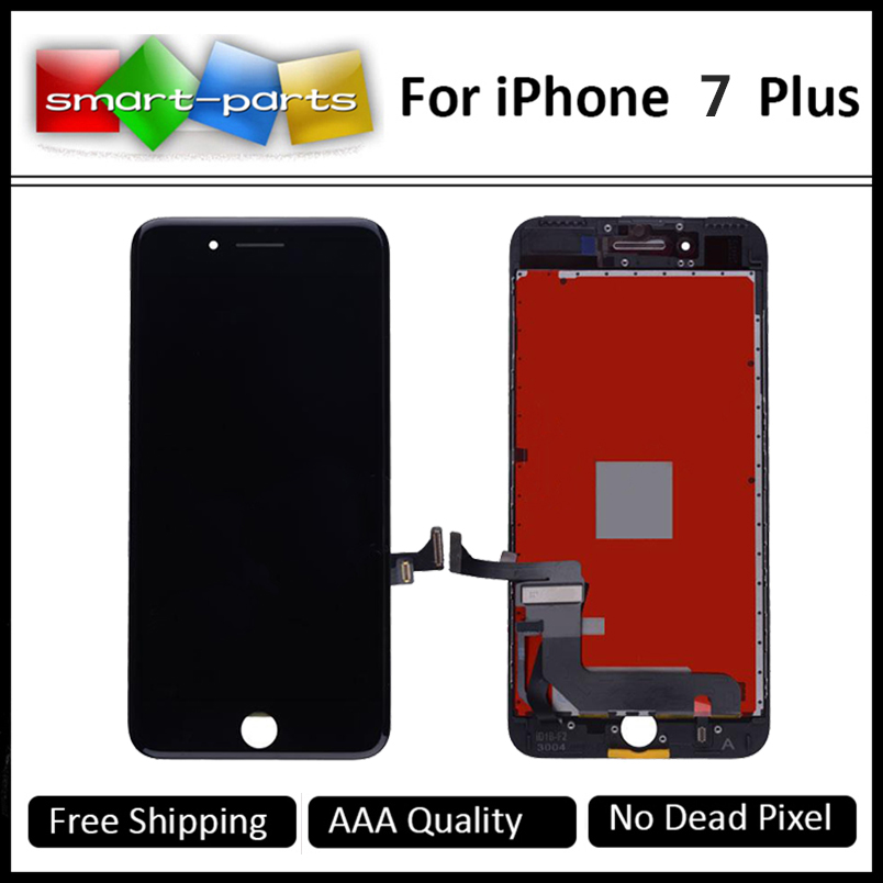 Prix pour 3 PCS/LOT 5.5 pouce Pour iPhone 7 Plus Complète Écran LCD avec Écran Tactile Digitizer Assemblée Remplacement, livraison DHL