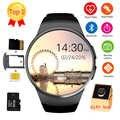 Frompro kw18 블루투스 스마트 시계 전체 화면 지원 sim tf 카드 ios 안 드 로이드 전화에 대 한 smartwatch 전화 심장 박동