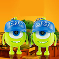 2015 New Monsters University toys Cartoon Movie Big Eye LED PVC Action Figures toys