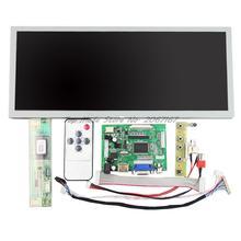 HDMI + VGA + 2AV Lcd Contrôleur Lecteur Conseil + 12.3 pouces 1280*480 LQ123K1LG03 LCD Panneau
