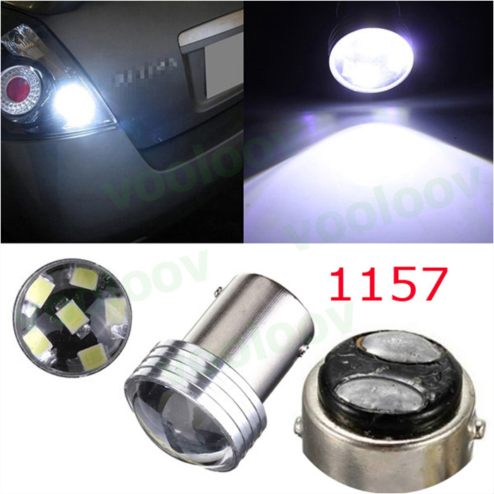6SMD White  1157 P21/5W 6 Led 2835 Projector Car Auto Source Backup Reverse Parking Lamp Bulbs DC12V BAY15D High Bright 2pcs brand new high quality superb error free 5050 smd 360 degrees led backup reverse light bulbs t15 for jeep grand cherokee