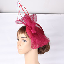 2016 fashion cocktail hats sinamay base and trim bridal hair accessorise adorned party accasion HATS church