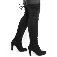Stretchy Over the Knee Boots