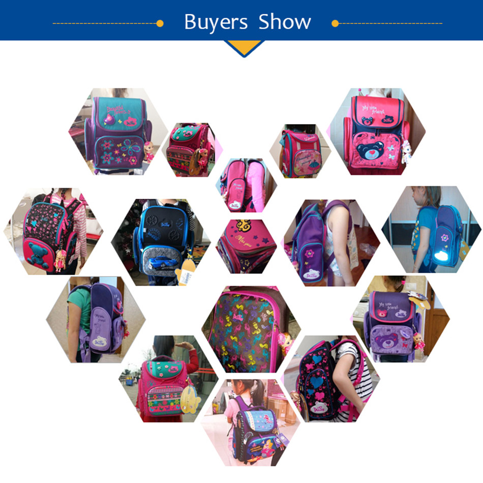 buyer's show of delune school bag