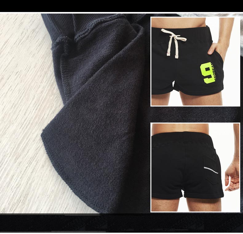 b9827a036c7 Casual Men s Short with Inside Pocket Jogger Shorts Breathable ...