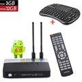 CSA93 Android Tv Box 3 GB RAM 32 GB ROM Amlogic S912 Octa core Tv Set Top Box WiFi Bluetooth 4.0 4 K 1000 M LAN Con I8 teclado