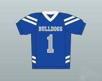 Football Jerseys Bella Dawson 1 Bulldogs Harmon Tedesco Arlen Escarpeta Reggie Oliver 12 Marshall University Movie