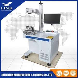 Laser-Marking-Machine Nonmetal Desktop-Fiber And LXJF-20W LINK Jinan High-Quality