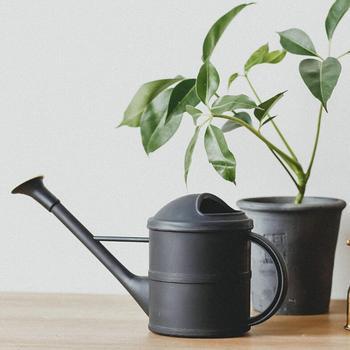 Regadera de PP con planta de boca larga de acero inoxidable hervidor de agua hervidor de riego de flores Bonsai herramienta de jardín