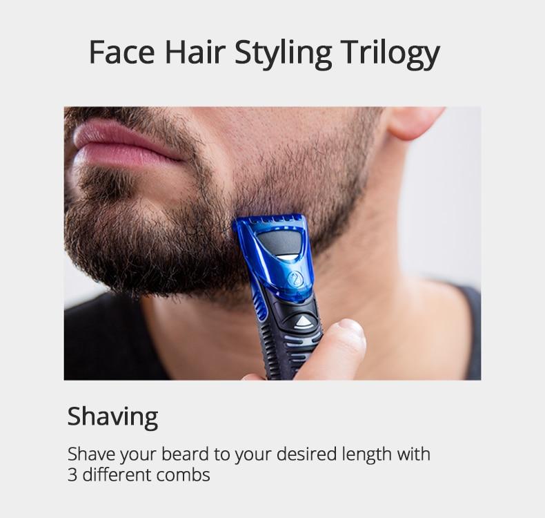 barba groomer lâminas substituíveis para homem