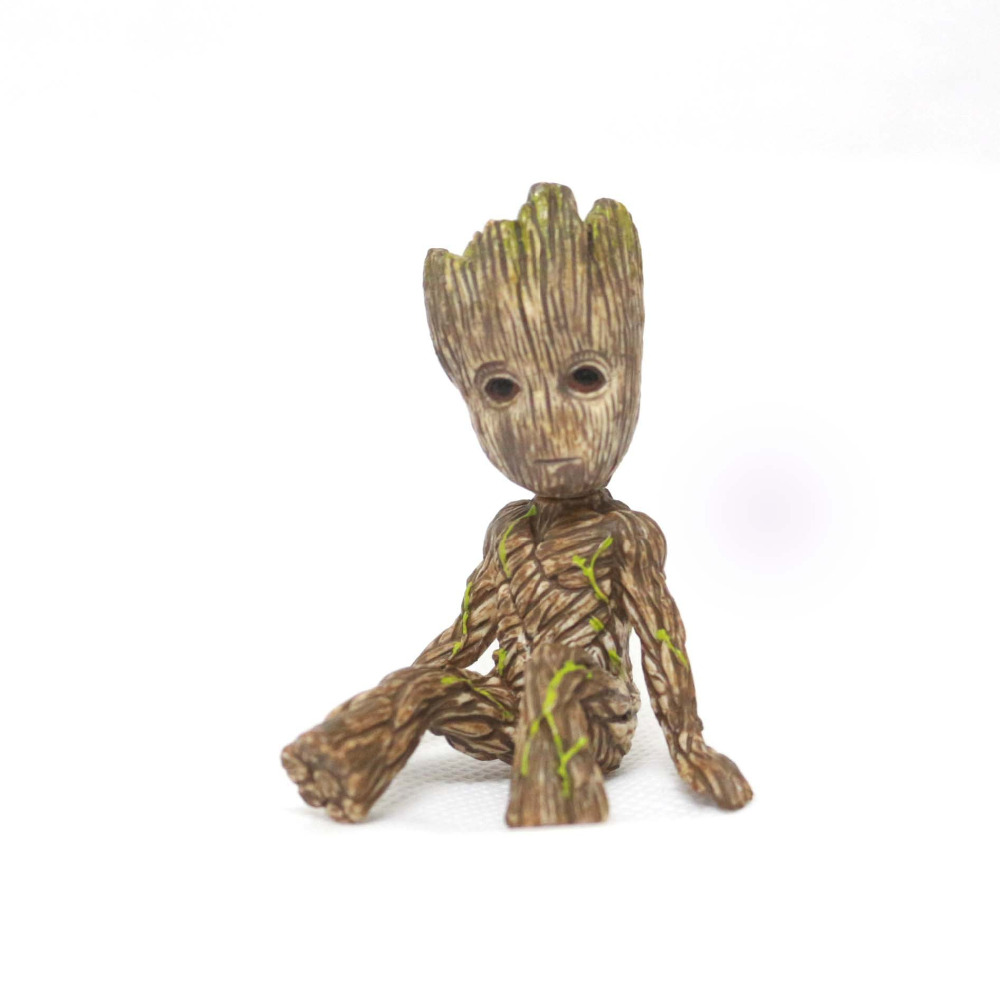 Anime Figure for Guardians of The Galaxy 2 Tree Man Baby Sitting Ver Collectible Model Toys Brinqued 6CM LZDM