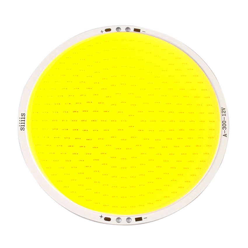 DC 12V 50W High Power 5000LM Ultra Bright 11cm Round COB LED Chip On Board Lamp Pure White Bead Light for DIY (3)