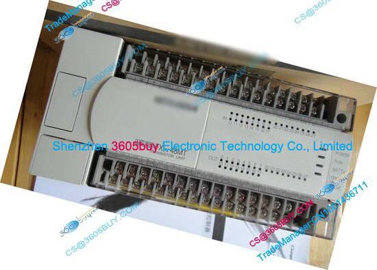 New Original FX2N-48MT-001 PLC Main Unit DI 24 DO 24 Transistor AC 220V