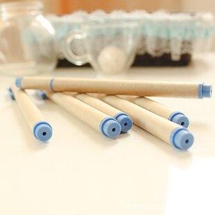 US $2 8 |Not so kraft paper pen gel pen green Japanese paper recycling pen  Muji wind on Aliexpress com | Alibaba Group